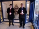 <p>Here are Mike &amp; Rob participating in a christmas collection at Roys of Wroxham in December 2012</p>